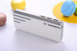 3 Output Port 16800 mAh Power Bank with LED Light, Power Indicator, on/off Button