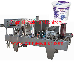 Automatic Yogurt Filling Sealing Machine pictures & photos