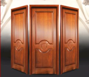 Modern Fancy Carving Simple Solid Teak Wood Main Door Designs