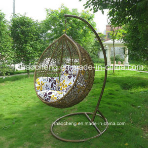 Swing Chair Kids Swings Chair PE Rattan Material Patio Swing