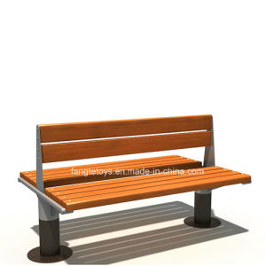Park Bench, Picnic Table, Cast Iron Feet Wooden Bench, Park Furniture FT-Pb018