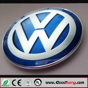 Customed Vacuum Forming Acrylic LED Illuminated Car Logos pictures & photos