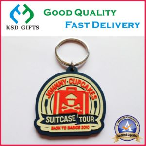 Hot Sell Custom Your Own Logo Soft PVC Keychain pictures & photos