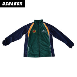 Customized Team Sports Soccer Training Tracksuit Jacket (TJ012) pictures & photos