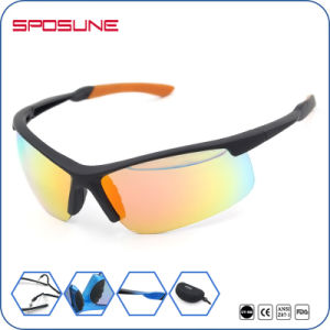 Unbreakable PC Eyewear En166 with Cusotm Logo for Outdoor pictures & photos
