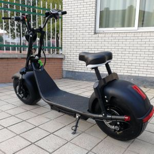 1000W 60V Brushless Electric Scooter 2 Wheels E-Scooter Electric Motorcycle Harley pictures & photos
