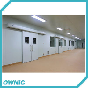 Steel Plate Automatic Duble-Leaf Sliding Door of Hospital pictures & photos