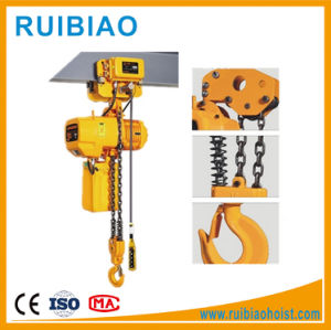 200kg PA200 Mini Small Electric Wire Rope Hoist pictures & photos