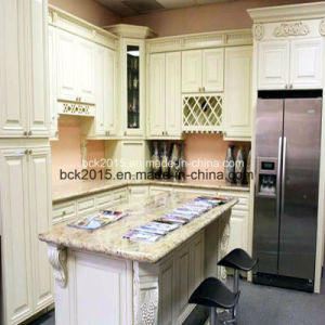 Bck European Style Wood Kitchen Cabinet White Paint Us Red Oak