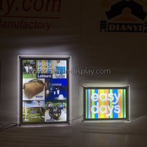 Acrylic Sign Board Plexiglass Light Box for Advertising