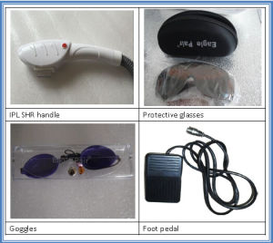 Portable Hair Removal & Spider Veins Removal Opt IPL Shr pictures & photos