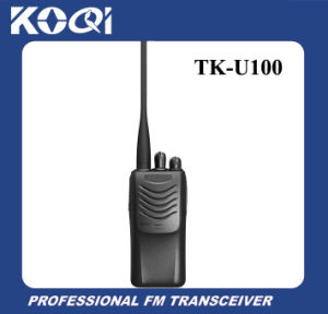 UHF VHF Tk-U100 Radio Transceiver for Telecommunication pictures & photos