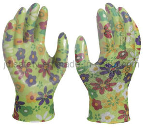 Safety Work Glove with Smooth Nitrile Dipping (N1561) pictures & photos