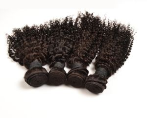 Brazilian Virgin Kinky Curly Hair Exension pictures & photos