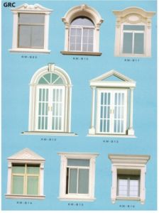 High Quality Decorative Cement Concrete Grc Window Frame Moulding