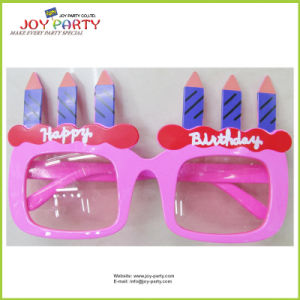 Happy Birthday Candle Party Glasses