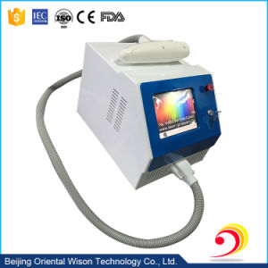 Portable Q-Switch ND YAG Tattoo Removal Laser Machine pictures & photos