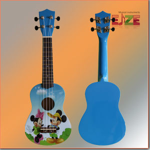 All Linder Plywood Ukulele with Decal pictures & photos