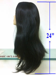 Full Lace 100% Human Hair Wigs-24""