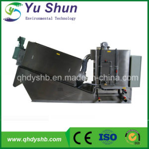Multi-Disc Screw Press Dehydrator for Paper Mill Wastewater