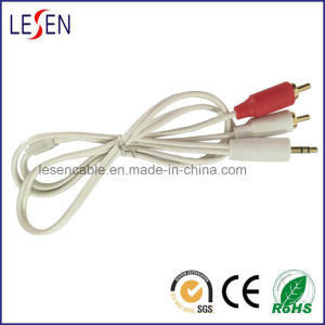 3.5mm Stereo Plug to 2 RCA Plugs, Best Quality pictures & photos