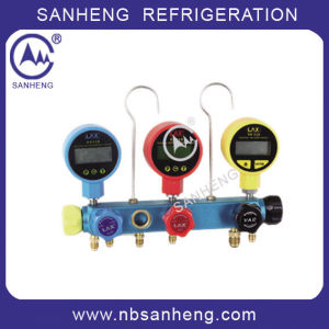 High Quality Refrigeration Manifold Gauge (Sh-M70336e) pictures & photos