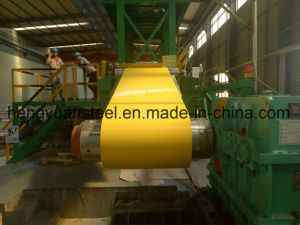 Yellow Color PPGI Steel Coil Prepainted Galvanized Steel Strip pictures & photos