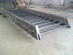 Ladderlike Large Steel Struture Welding
