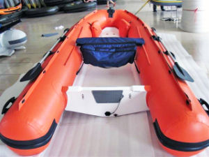 Rubber Dinghy Rib Boat 4m for Yacht Tender