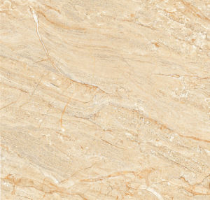 Yellow Silk AA137 Full Polished Porcelain Tile pictures & photos