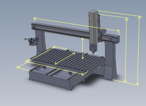 Woodworking Machine 5 Axis Router CNC
