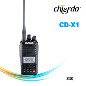 Chierda Professional Walkie Talkie Radios with LCD (CD-X1)