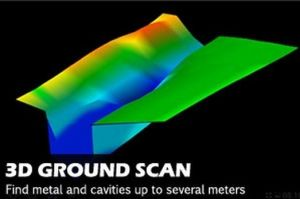 3D Underground Scaner/Metal Detector/Gold Detector/3D Scanner/ pictures & photos