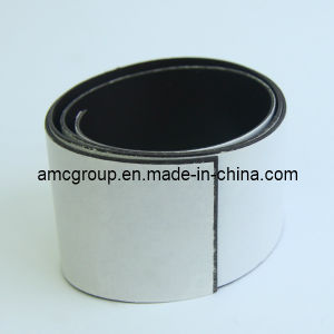 Flexible Rubber Magnetic Sheet with Adhesive pictures & photos