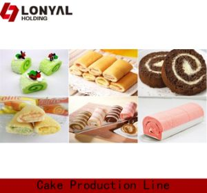Layer Cake and Swiss Roll Production Line (LY600)