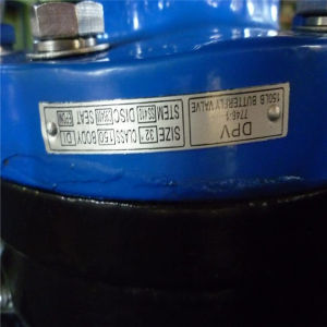 Double Flanged Centric Dn100 Butterfly Valves pictures & photos