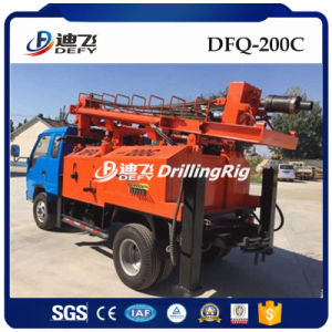 200m DTH Hammer Water Well Drilling Rigs for Sale pictures & photos