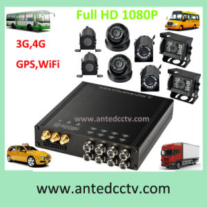 4/8 Channel 1080P Vehicle Security Monitoring Systems with Mobile DVR and Surveillance CCTV Camera & GPS Tracking pictures & photos