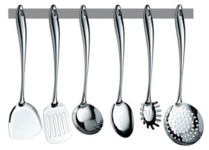china stainless steel kitchen utensils hollow handle most popular rh made in china com stainless steel kitchen utensils for sale stainless steel kitchen utensils online shopping india