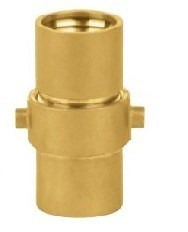 Nh Hose Coupling (HV08-005G) Brass material pictures & photos