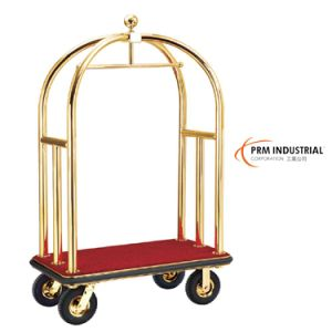 Titanium Plated Luggage Trolley & Hotel Luggage Carts pictures & photos