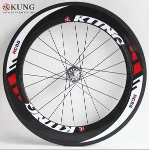 Carbon Fiber Wheels >> Kung Racing Carbon Fiber Bike Clincher Wheels 88mm