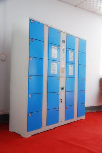Metal Colored Office or Market Lockers Hs-039
