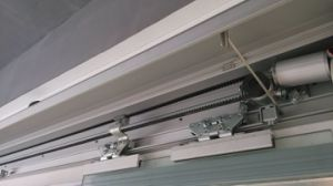 Fire-Control Automatic Sliding Door Motor, with Aluminum Cover and Maintenance Hook pictures & photos