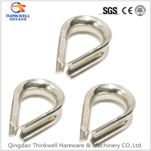 Stainless Steel DIN6899A Wire Rope Thimble pictures & photos