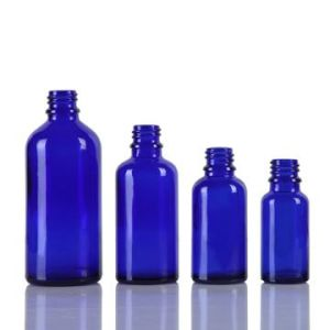 5ml-100ml Cobalt Blue Glass Bottle for Essential Oil pictures & photos