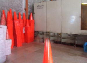 Facoty Made Multicolor Traffic Road Safety Cones