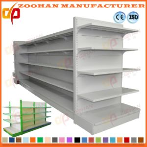 South American Style Ironl Supermarket Gondola Shelving Unit (Zhs457) pictures & photos
