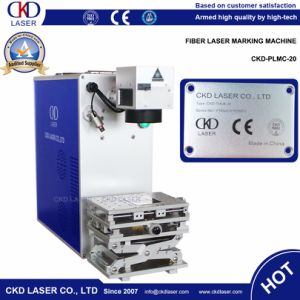 20W Q-Switched Fiber Laser Etching Machine for Engraving Metal pictures & photos