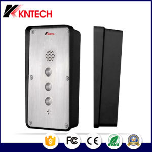VoIP Telephone Knzd-45 VoIP Stainless Steel Waterproof Industrial Telephone Kntech pictures & photos